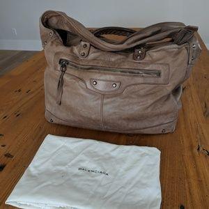 Balenciaga large weekender bag
